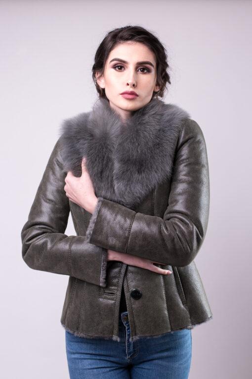 Haina de blana pentru femei model Ani oliv