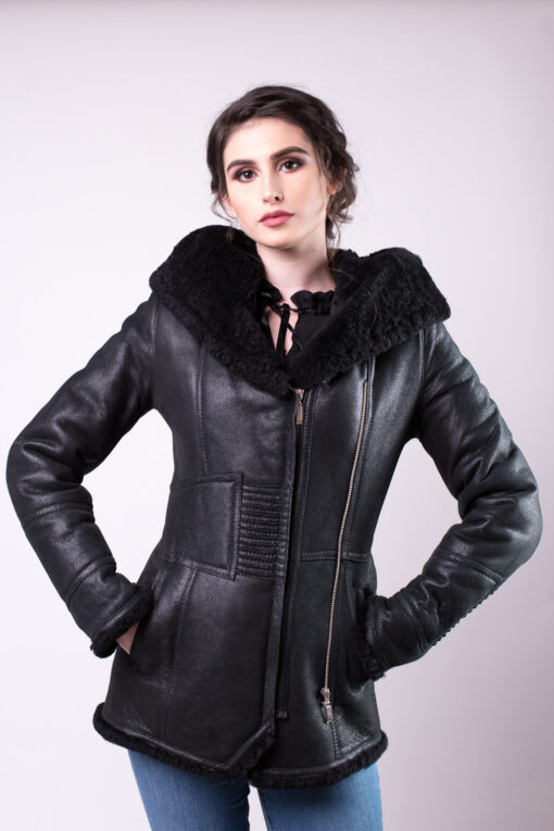 Haaine de blana pentru femei model tabita negru