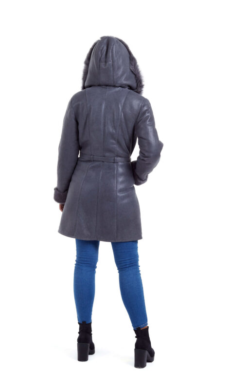 Haina de blana pentru femei model 3/4 gri