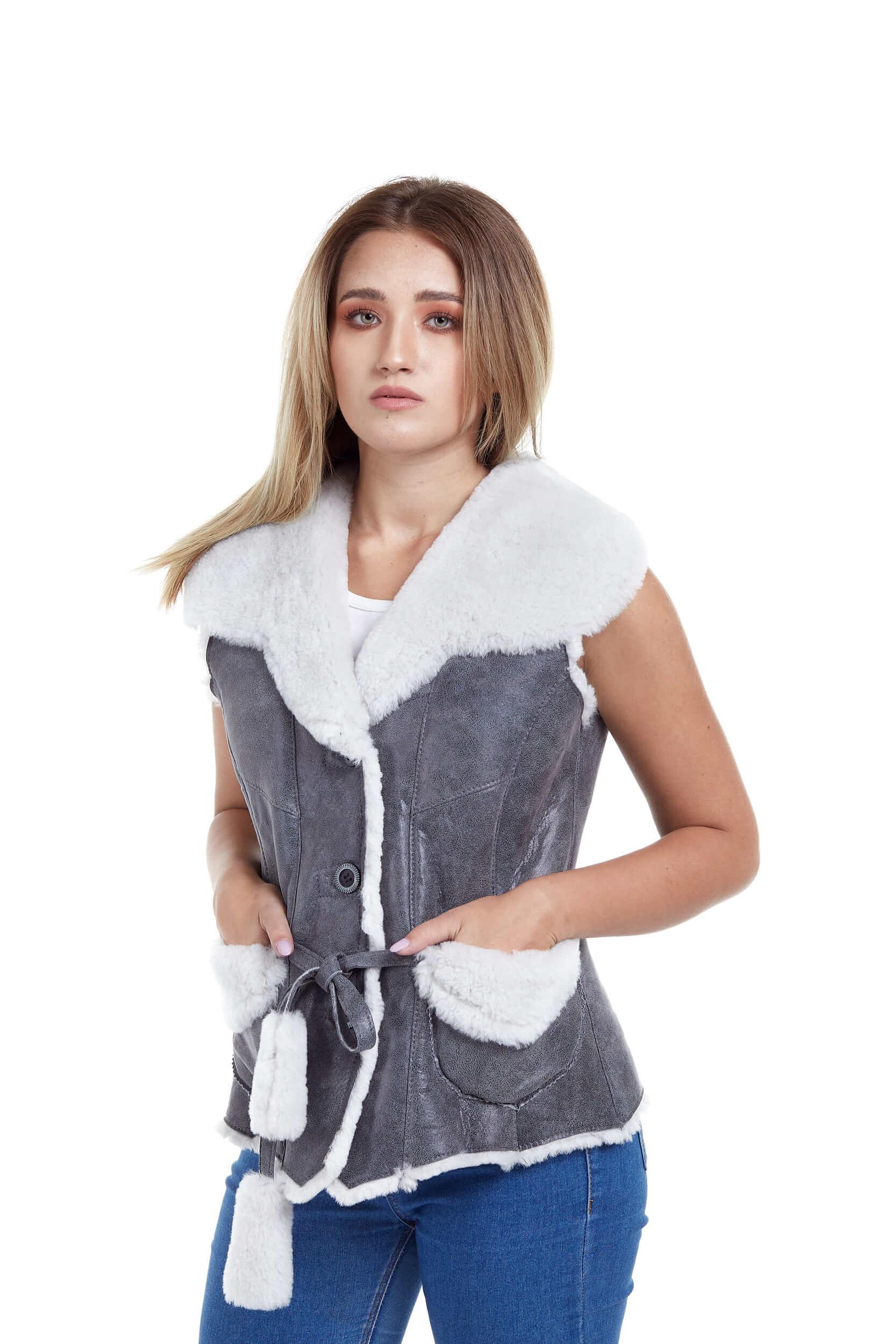 Veste de blana si piele – direct de la producator