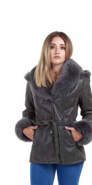Haina de blana pentru femei model Shakira Oliv