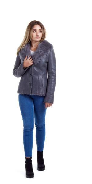 Haina de blana pentru femei model Ani gri 6