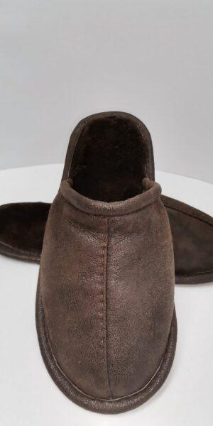 Papuci de casa pentru Barbati – cod 38 maro 2