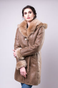 haina de blana pentru femei model 3-4 bej